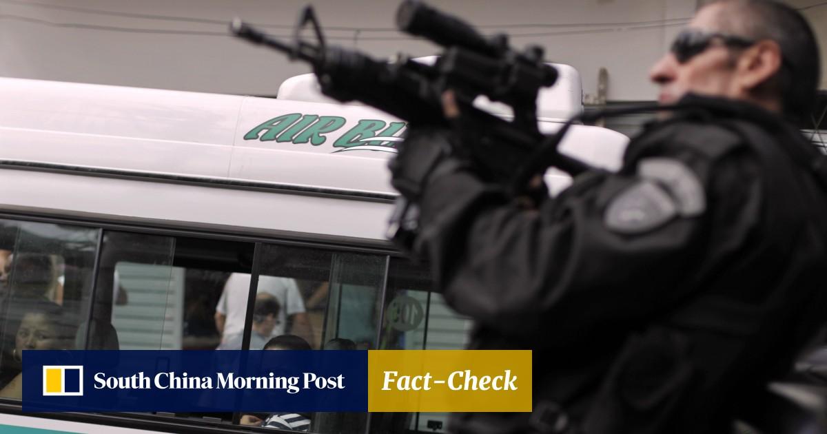 Secret snipers' deployed in Brazil's Rio de Janeiro to take down