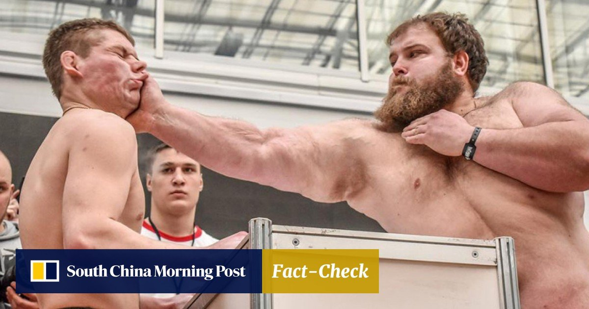 Slap smackdown: Russian 'Dumpling' Kamotskiy blasts 'Bazooka