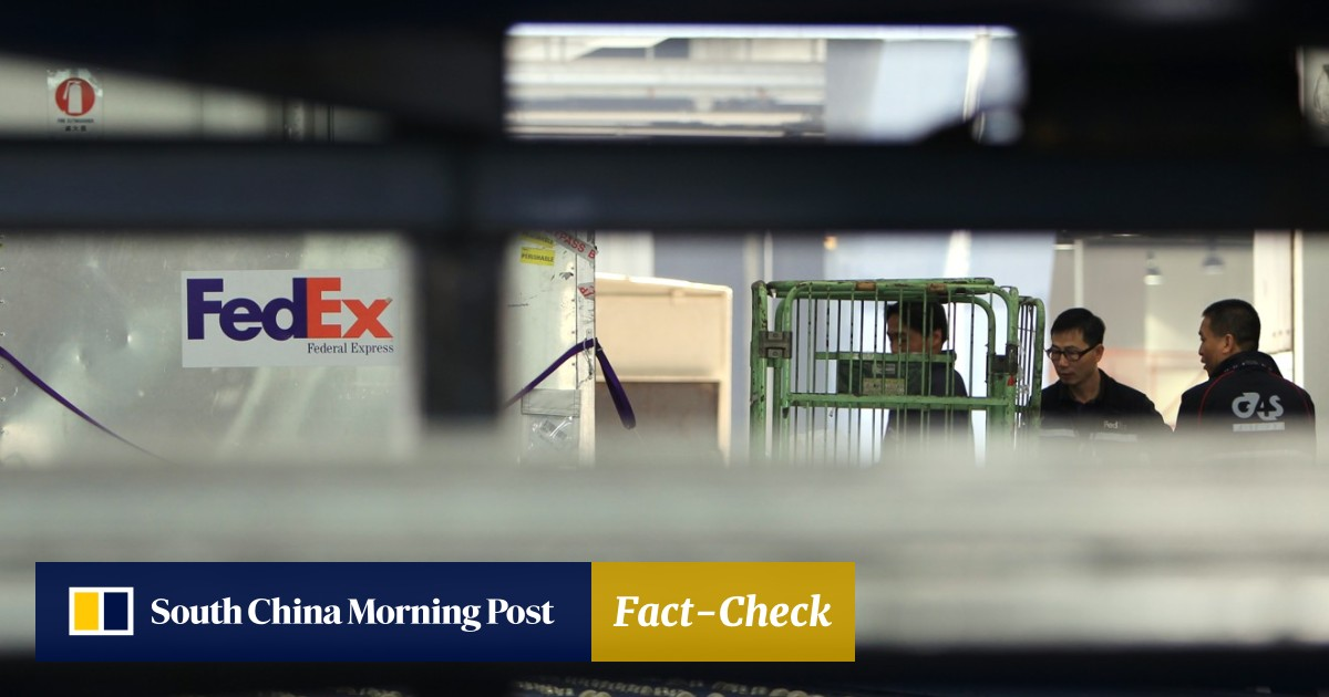 China targets FedEx over stray packages as new front opens in trade