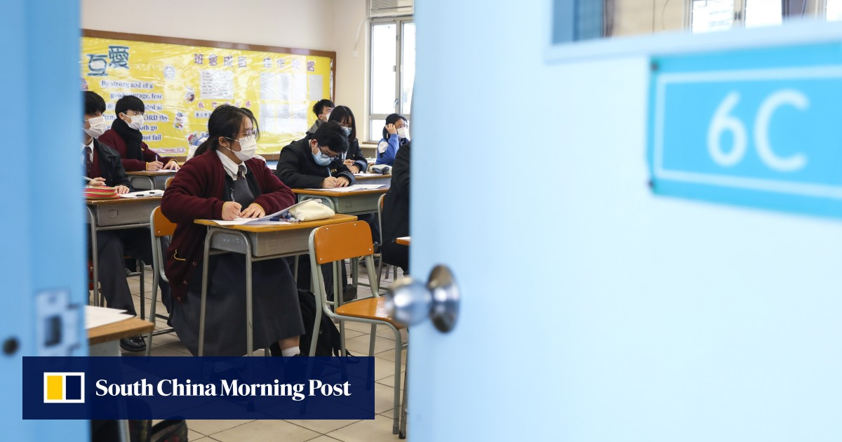 Image Stress among Hong Kong's students and teachers has risen to worrying levels during the coronavirus pandemic, local groups say
