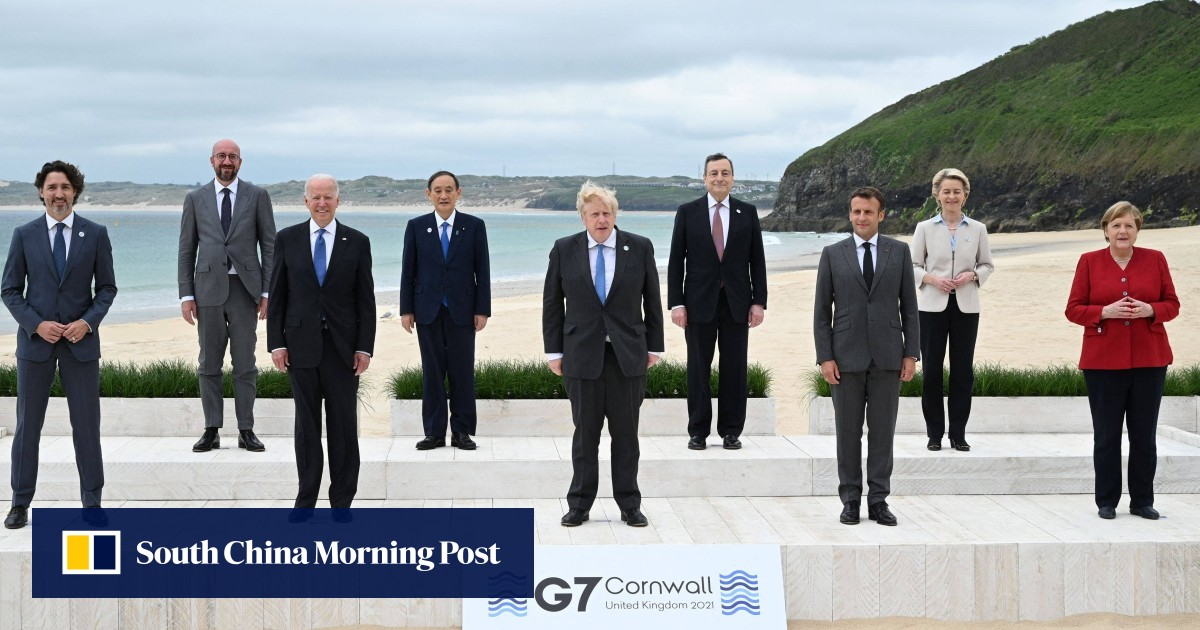 G7 leaders to turn attention to China as focus shifts to foreign policy