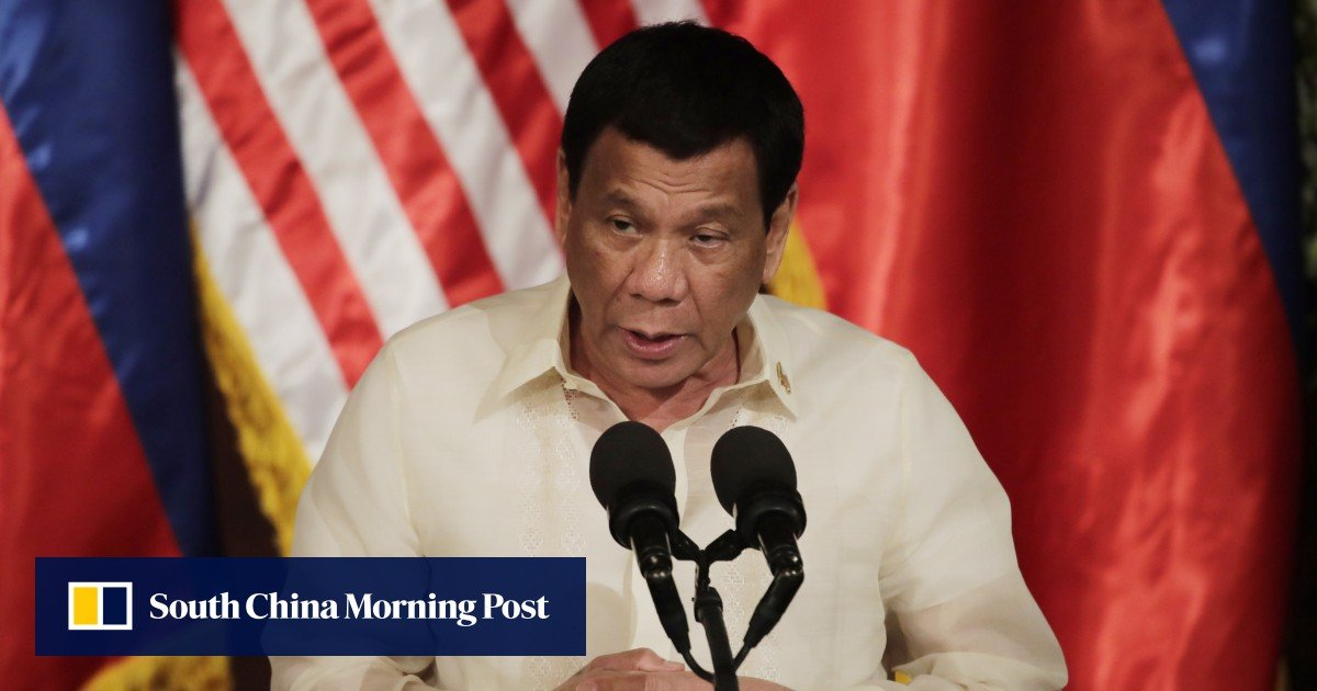 'Narco list': in stunning TV accusation, Philippines President Rodrigo Duterte names 46 officials 'involved in illegal drugs'