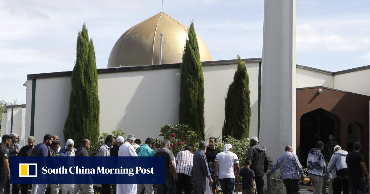 'Muslims welcome, racists not': New Zealanders march for love as Christchurch mosques reopen week after shooting