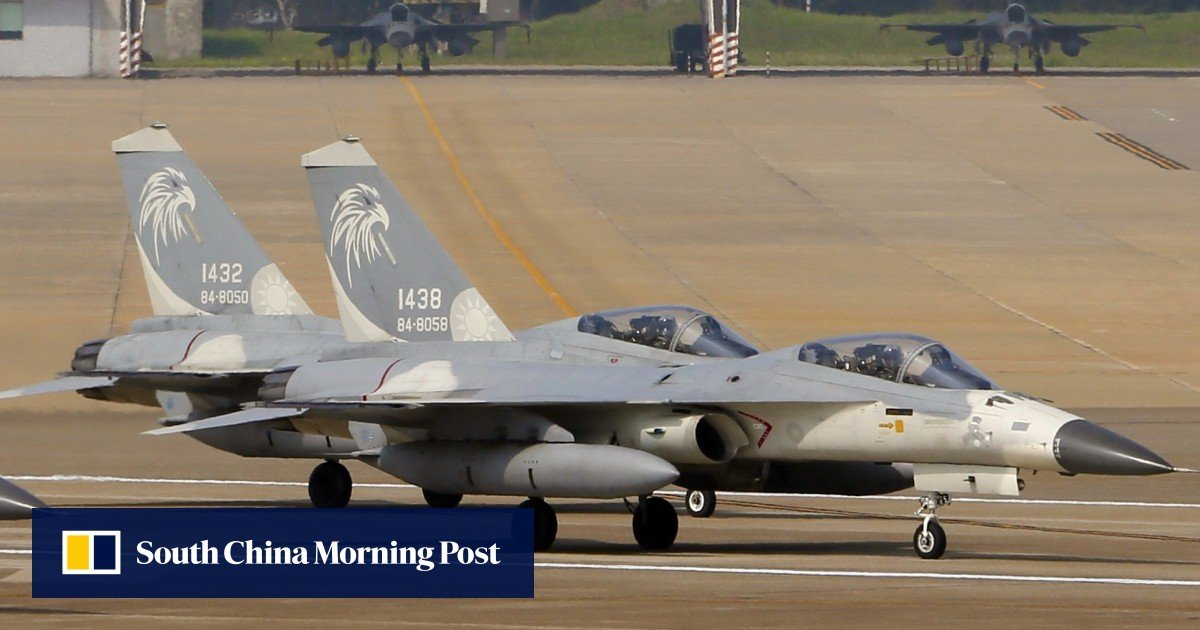 US approves F-16 support for Taiwan in face of pressure from Beijing