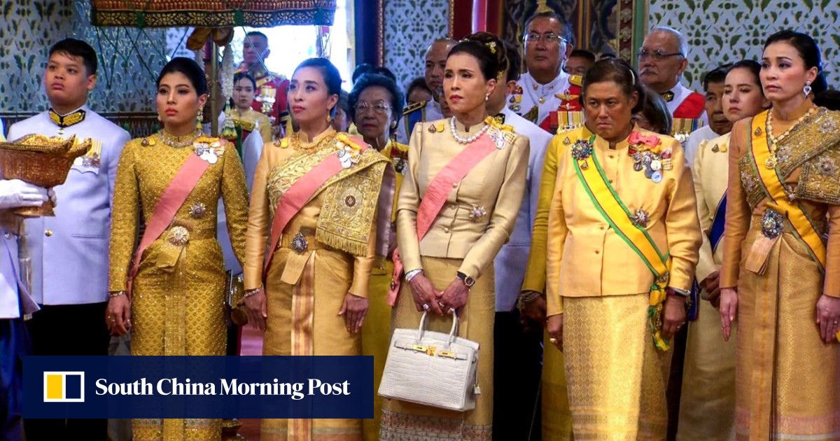 Coronation of King Maha Vajiralongkorn gives rare glimpse of