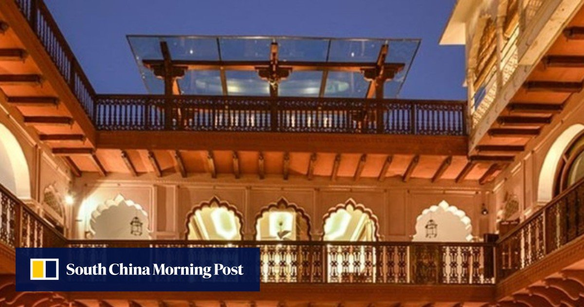 Welcome To Haveli Dharampura, A Rare Oasis Amid The Chaos