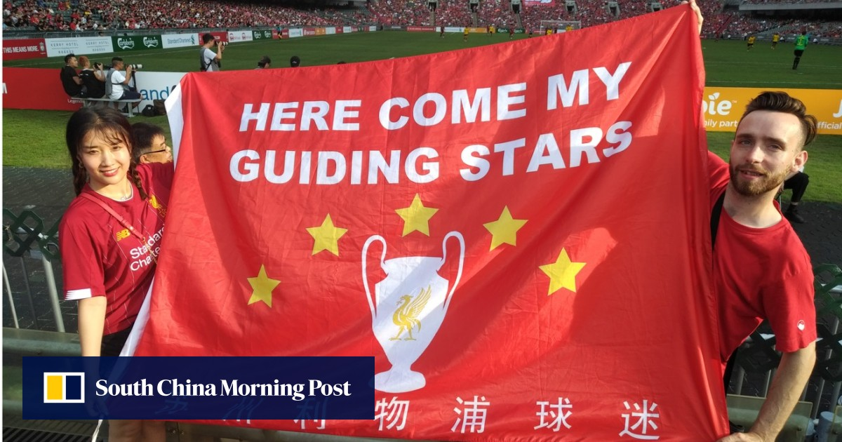 7efd9ebfaa5 'It's not good for my heart, but I still love them': Liverpool FC fans  continue celebration at Hong Kong Stadium for Legends match   South China  Morning ...