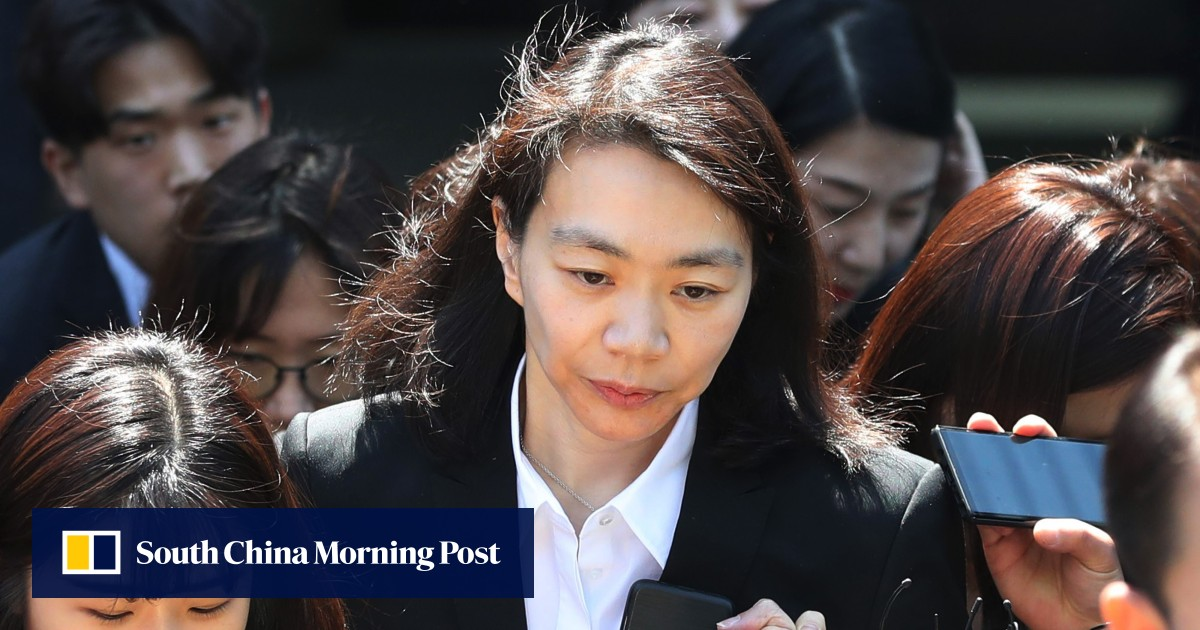 Korean Air 'nut rage' heiress and her mother avoid jail for smuggling luxury goods