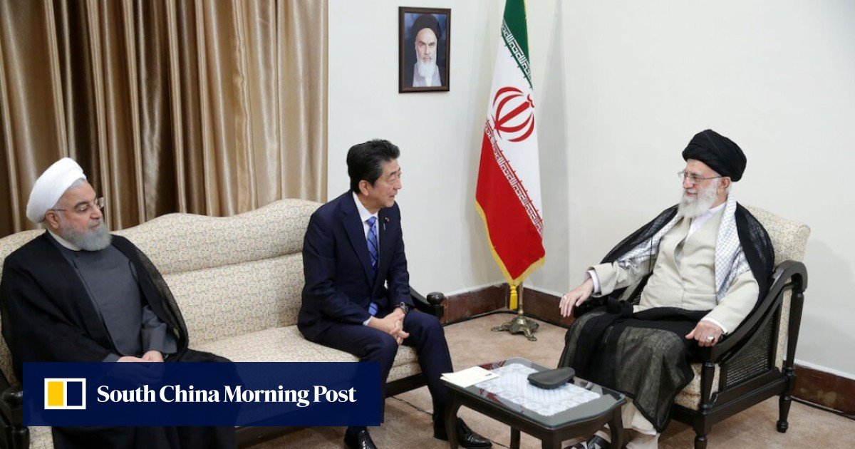 Japanese Prime Minister Shinzo Abe meets Iranian leadership, tries to ease tensions with United States