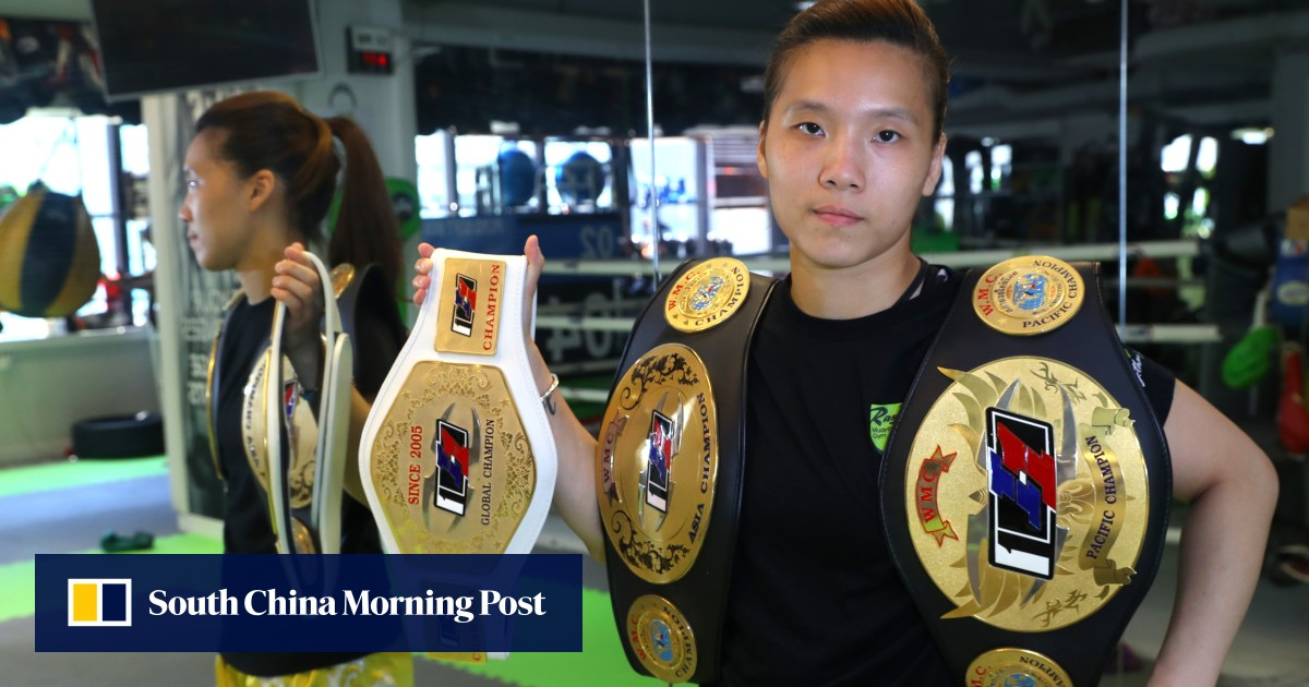 Muay Thai champion Kwok Hoi-ling from Hong Kong finds learning to never give up is the sport's biggest prize