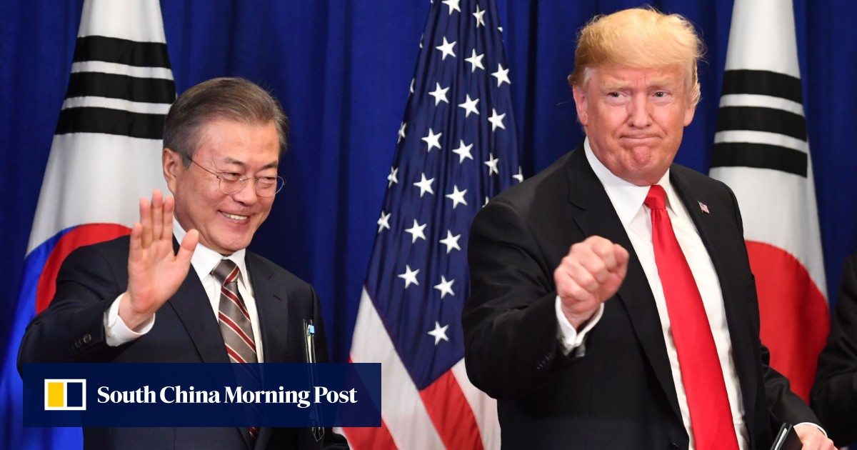 Trump expected to visit DMZ during Moon summit in Seoul, raising hopes of resumption in denuclearisation talks with Kim