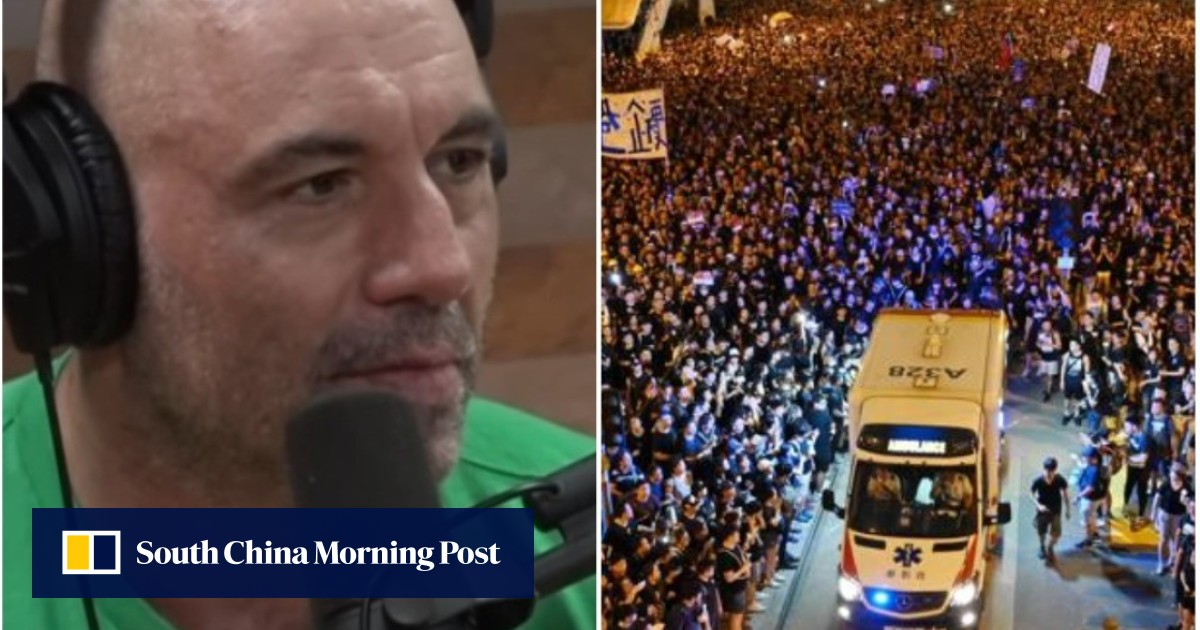 Joe Rogan in awe of ?polite? Hong Kong protesters? gesture