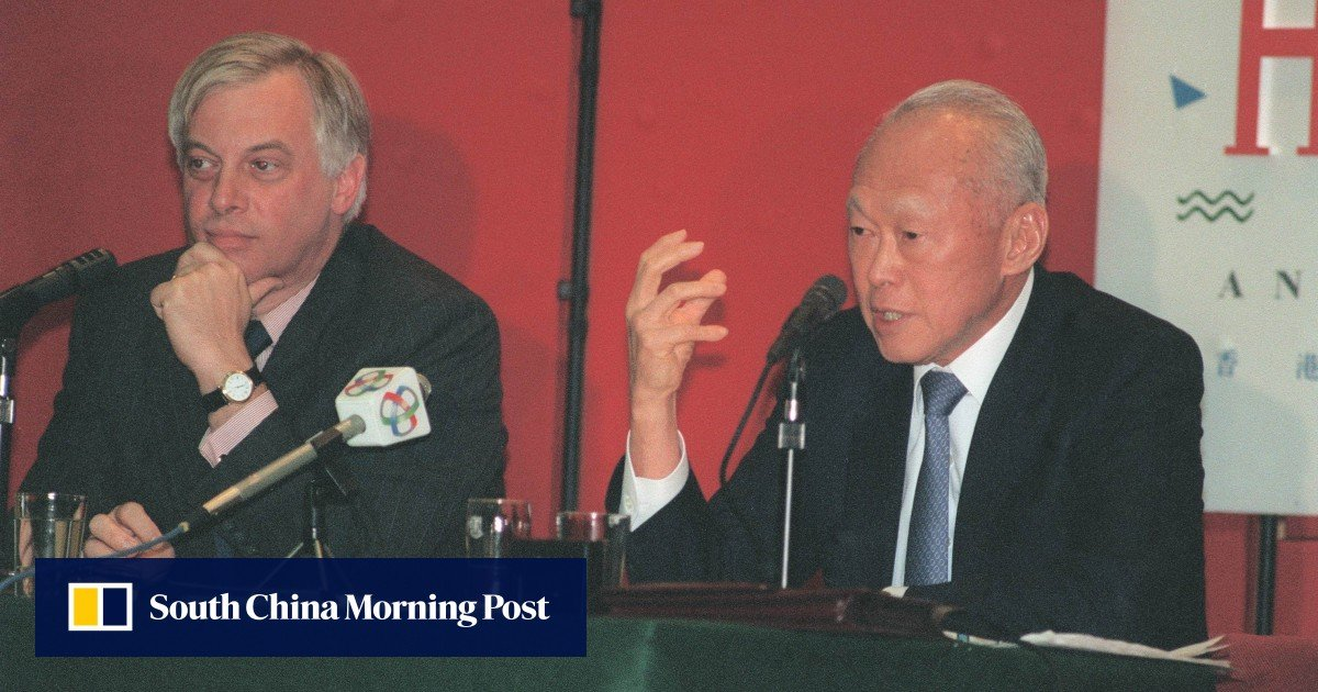 Singapore leader Lee Kuan Yew blasted Britain's handling of Hong Kong's early 1990s electoral reform, declassified cables show