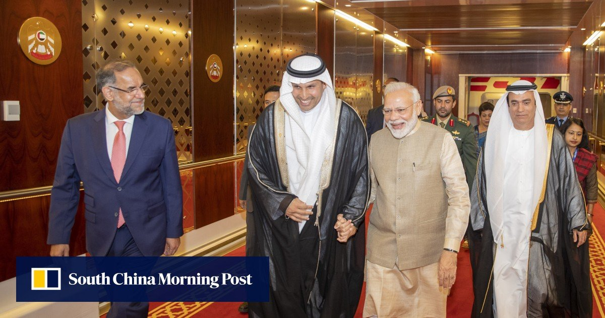 India's Narendra Modi bestowed with UAE's top civilian honour amid Kashmir crackdown