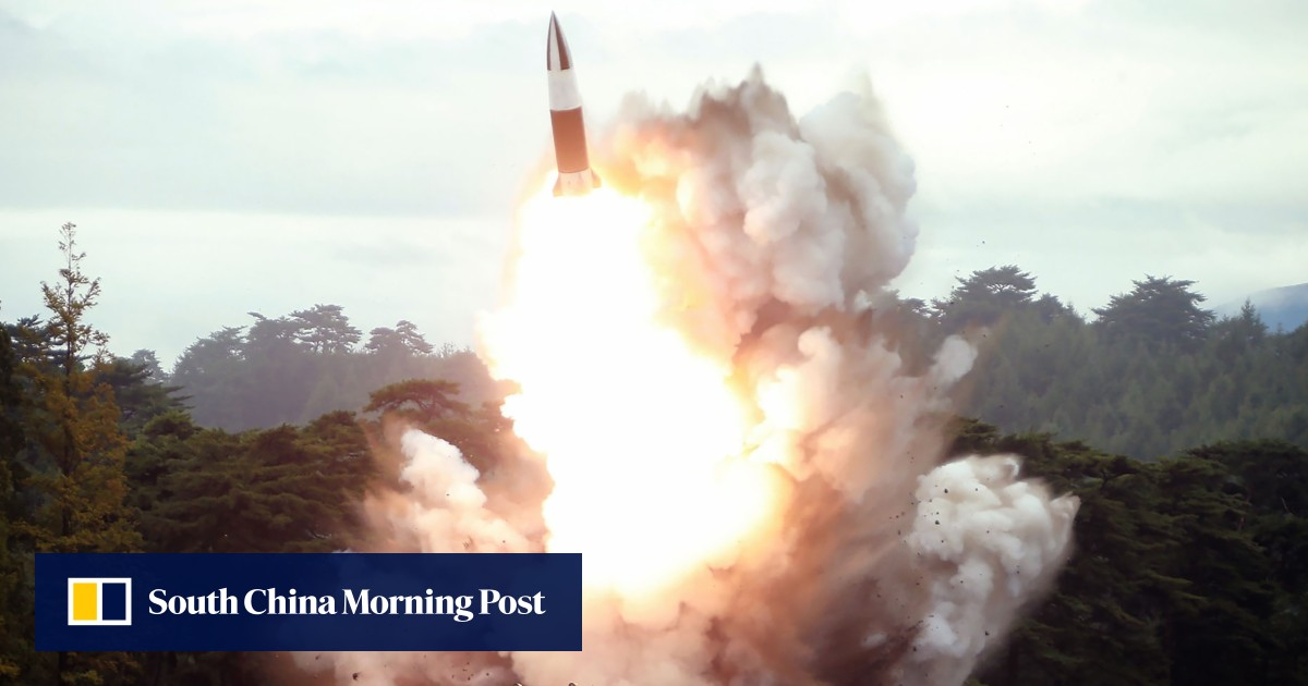 North Korea launches fresh salvo of missiles into sea off Japan