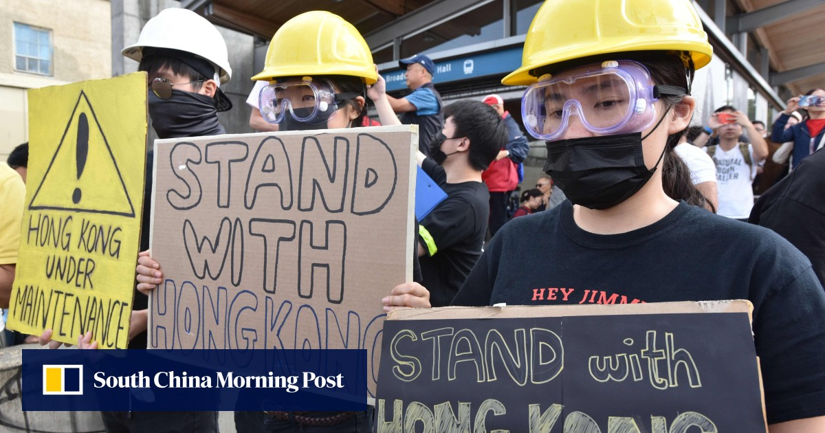 One China, two different worlds: how the great political divide is on full show overseas amid Hong Kong chaos