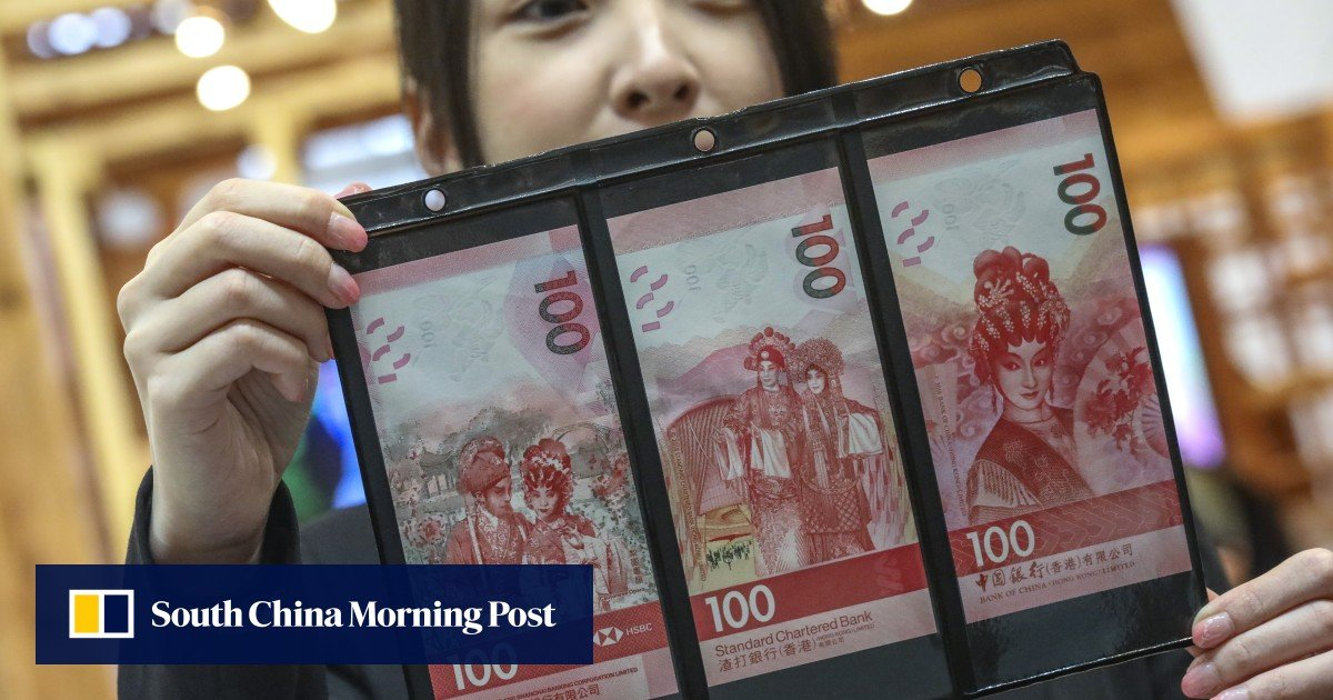 Cantonese opera features on new HK$100 banknotes launched by