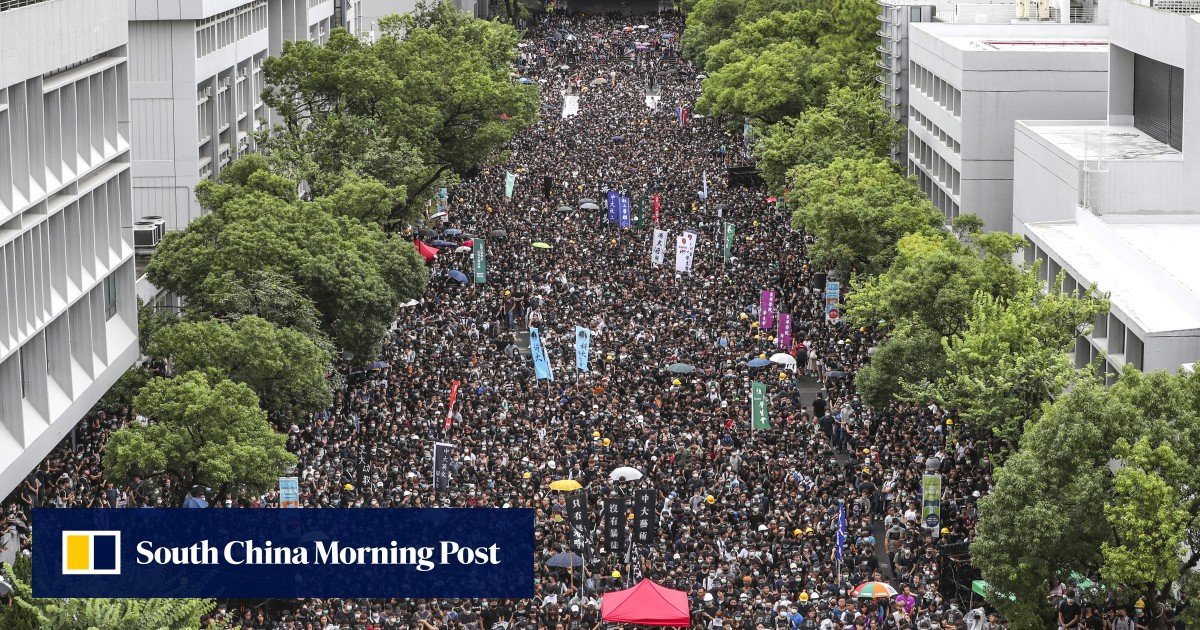 Defiant Hong Kong students go on strike, ignoring top officials' warnings