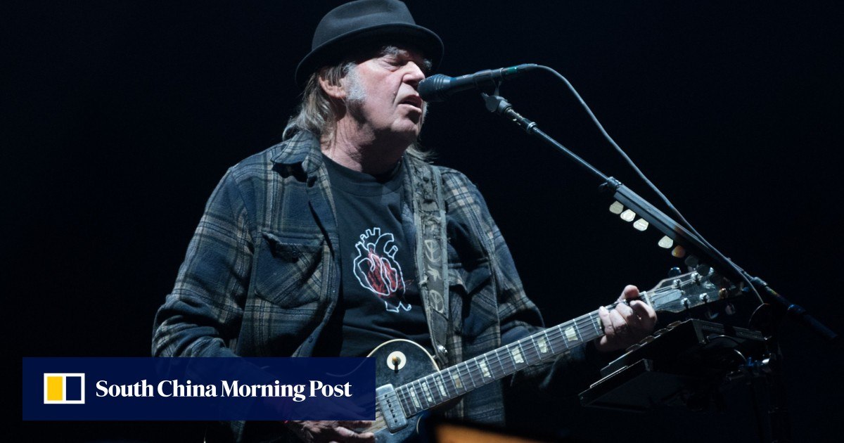 Neil Young wants to vote in US election, but his cannabis use is an issue