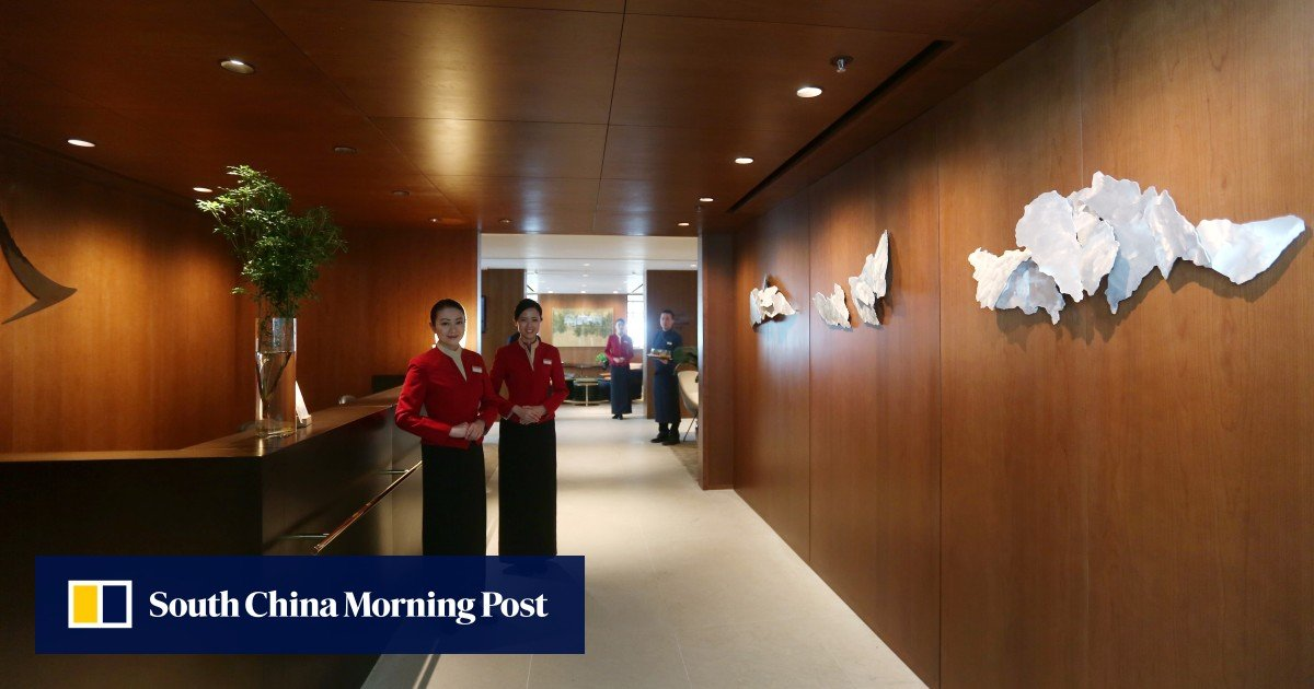 Cathay to close three airport lounges in Hong Kong amid virus woes