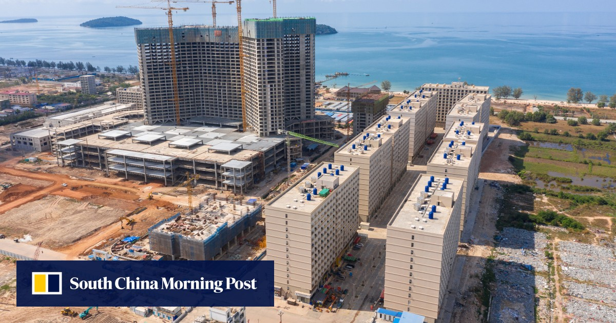 Sihanoukville loses bet as money for Chinese casinos dries up - South China Morning Post