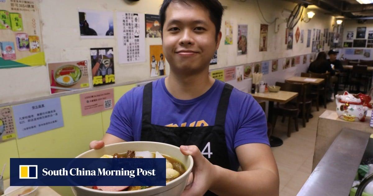 Hong Kong street food: 21st-century cart noodles