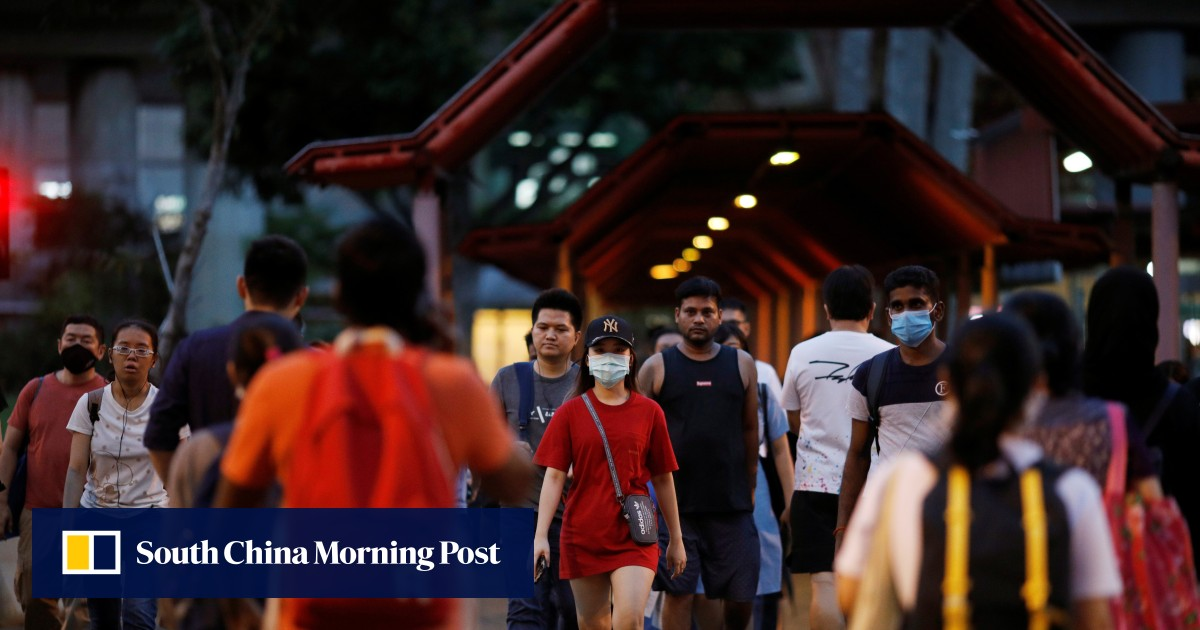 Singapore reports 120 new virus cases, locks down 2 foreign worker dorms
