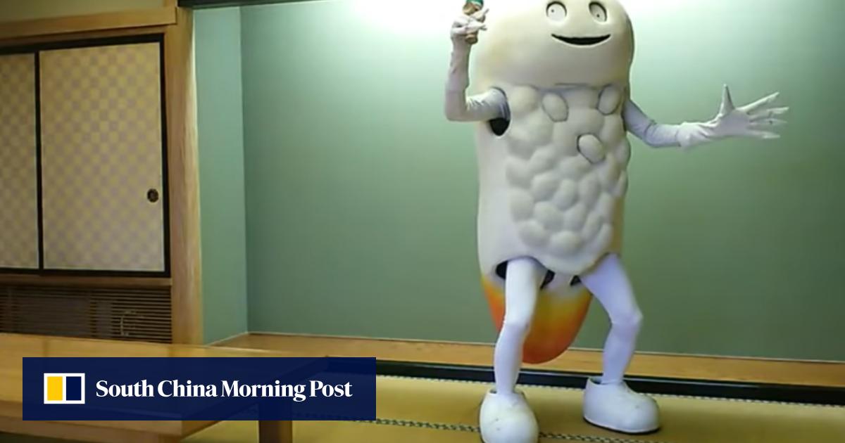 Japan's weirdest mascot? Meet Zushihocky, part rice, part clam