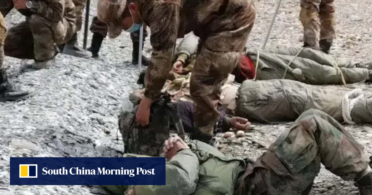 Indian and Chinese soldiers take border skirmish to social media