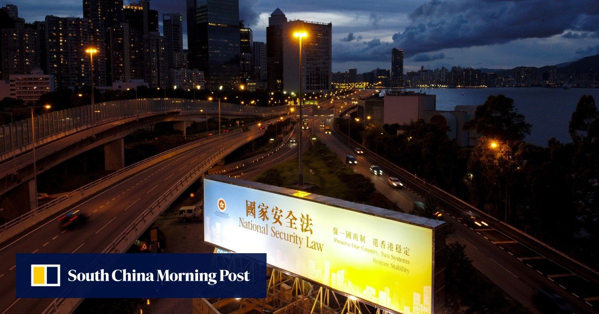 scmp.com - Foreign firms face 'huge insecurity' over Hong Kong national security law