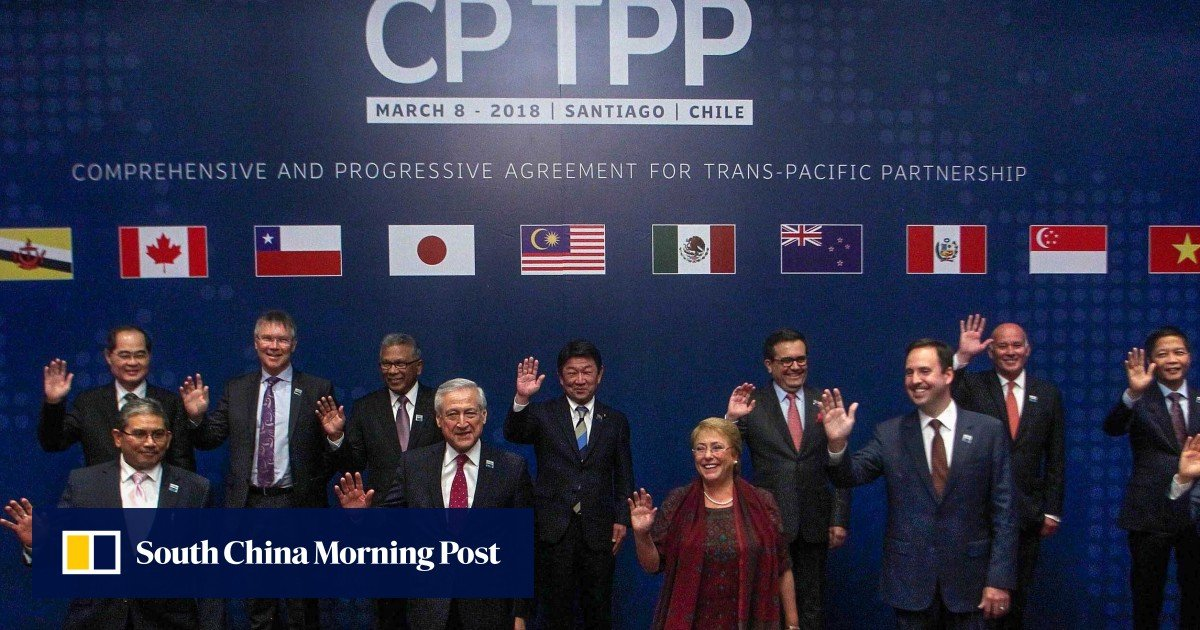 scmp.com - Can China actually join a trans-Pacific trade deal abandoned by Trump?