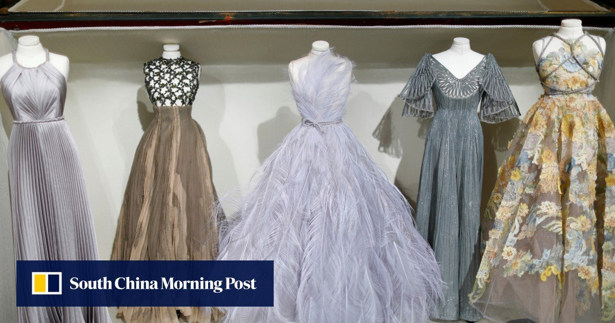 Dior's dolls in couture echo post-war miniature fashion show