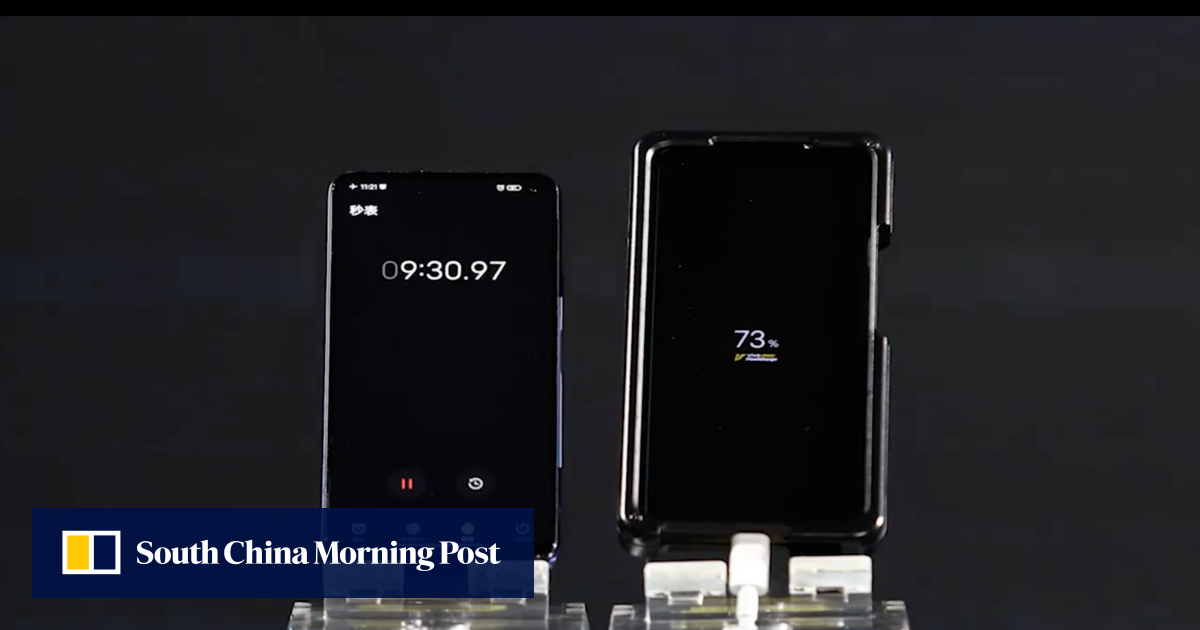 This smartphone can fully charge its battery in 15 minutes