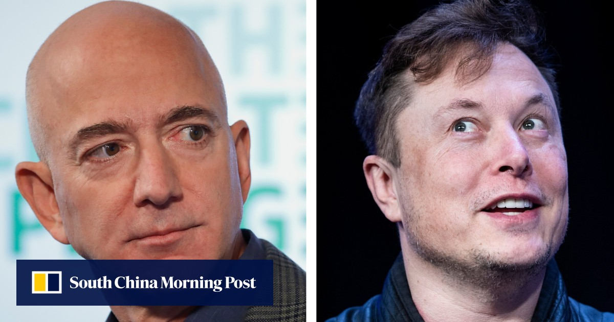 Elon Musk vs Jeff Bezos: who started the 15-year tech feud?