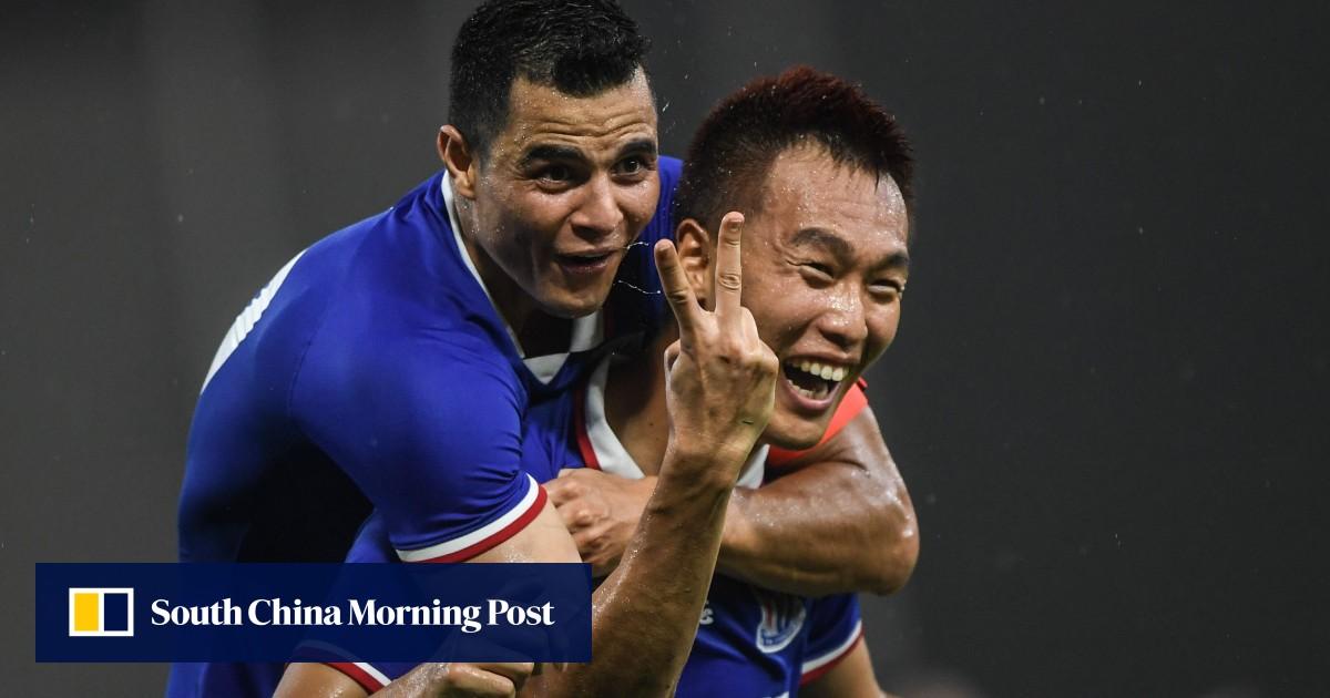 Zahavi's 100th R&F goal saves point as Kim snatches Shenhua win