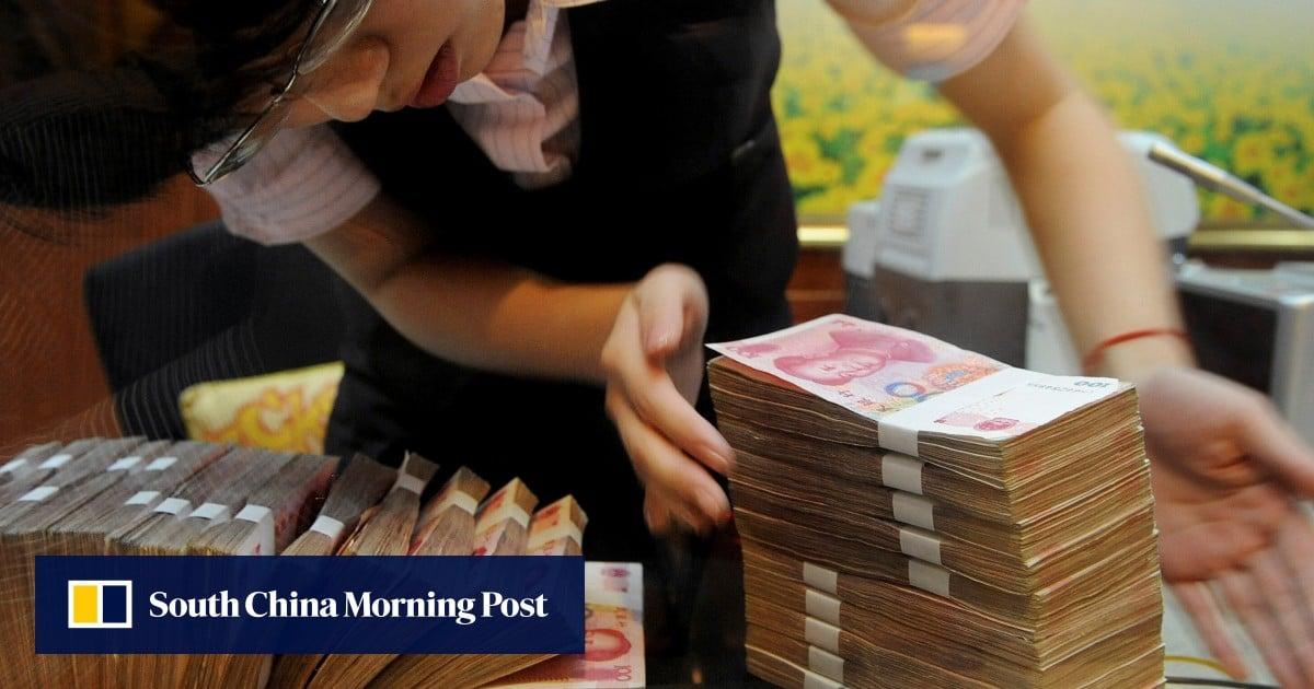 Trillions in bad loans straining China's banking system, regulator warns
