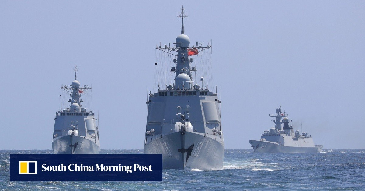 Chinese military held drills near Taiwan as US official visited Taipei, PLA says