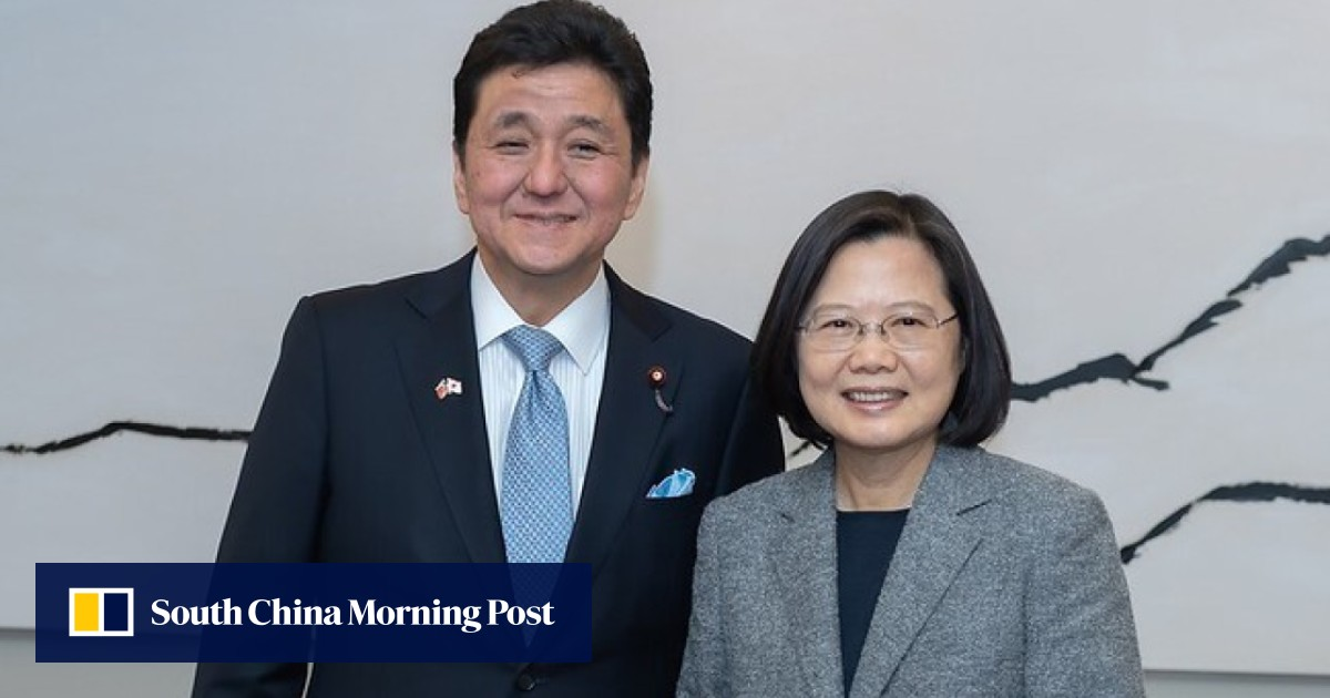 Taiwan ties of Japan's new defence minister Nobuo Kishi sparks reaction from China