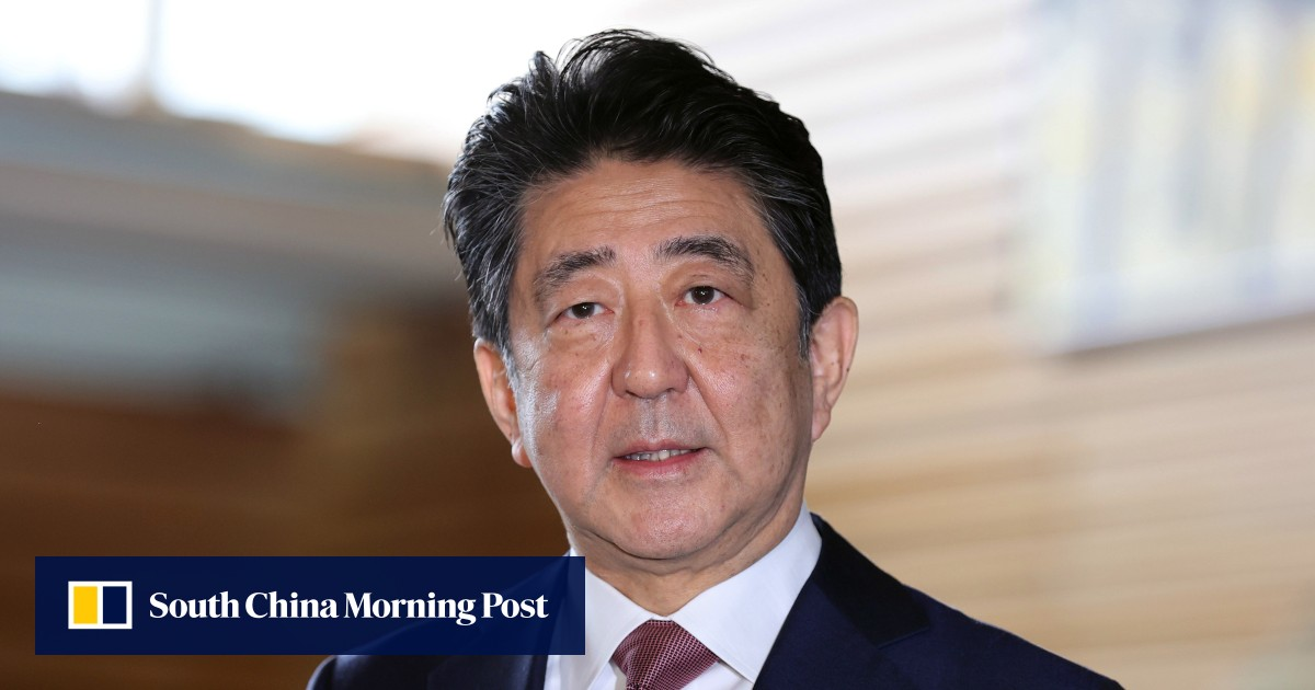 Japan's former PM Shinzo Abe visits controversial Yasukuni Shrine for war dead