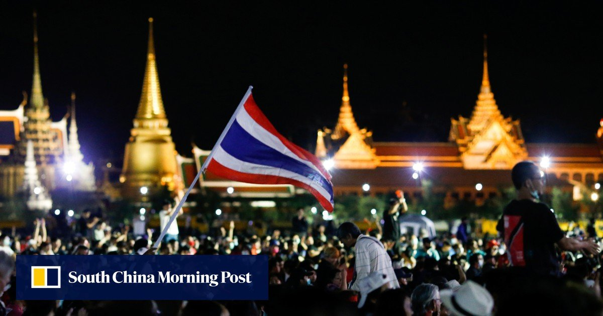 Thai protesters rally in Bangkok to push demands for democratic reforms