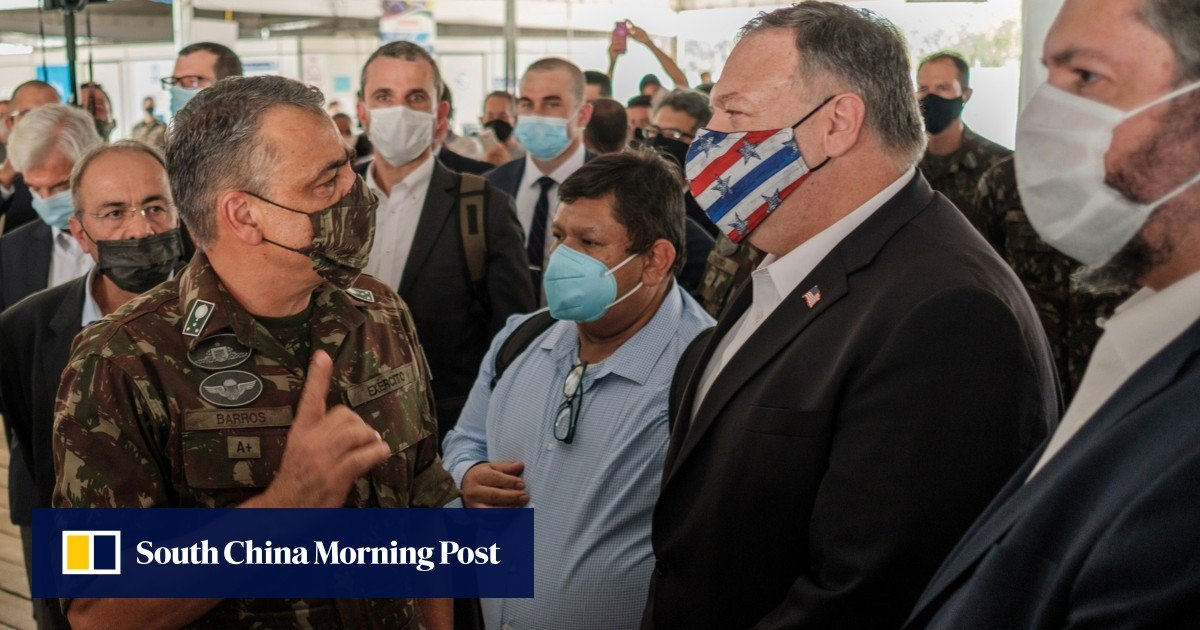 China accuses Pompeo of 'vile conspiracy' in Latin America