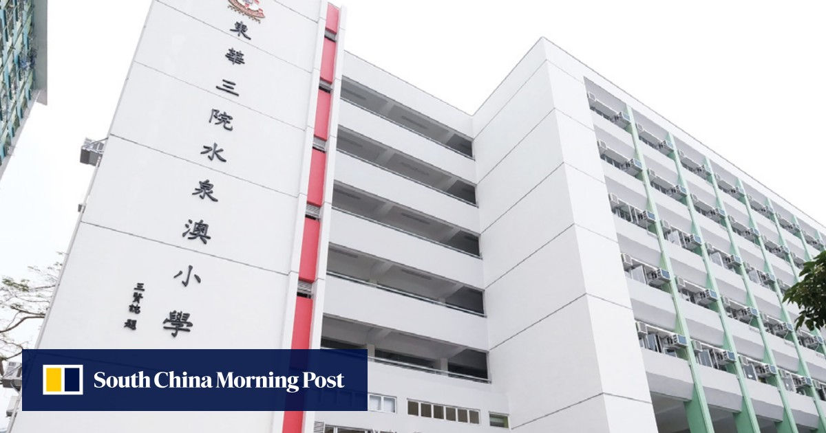 Pair arrested over paint attack on six-year-old girl outside Hong Kong school
