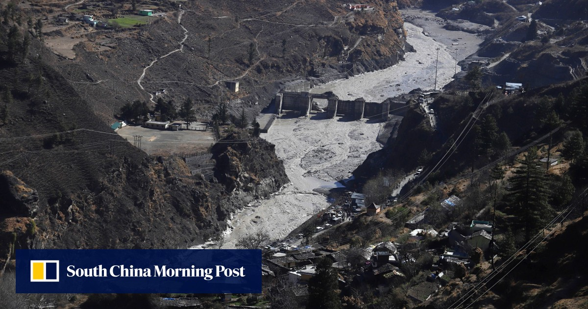 Was climate change to blame for India's glacier flood disaster?