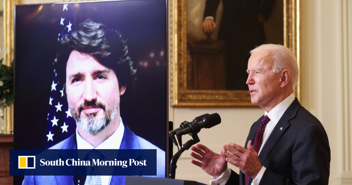 US and Canada will cooperate to 'better compete' with China, Biden says
