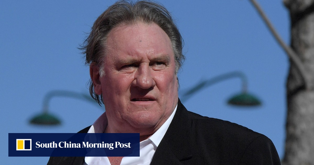 French star Gerard Depardieu, 72, charged with raping actress in her 20s