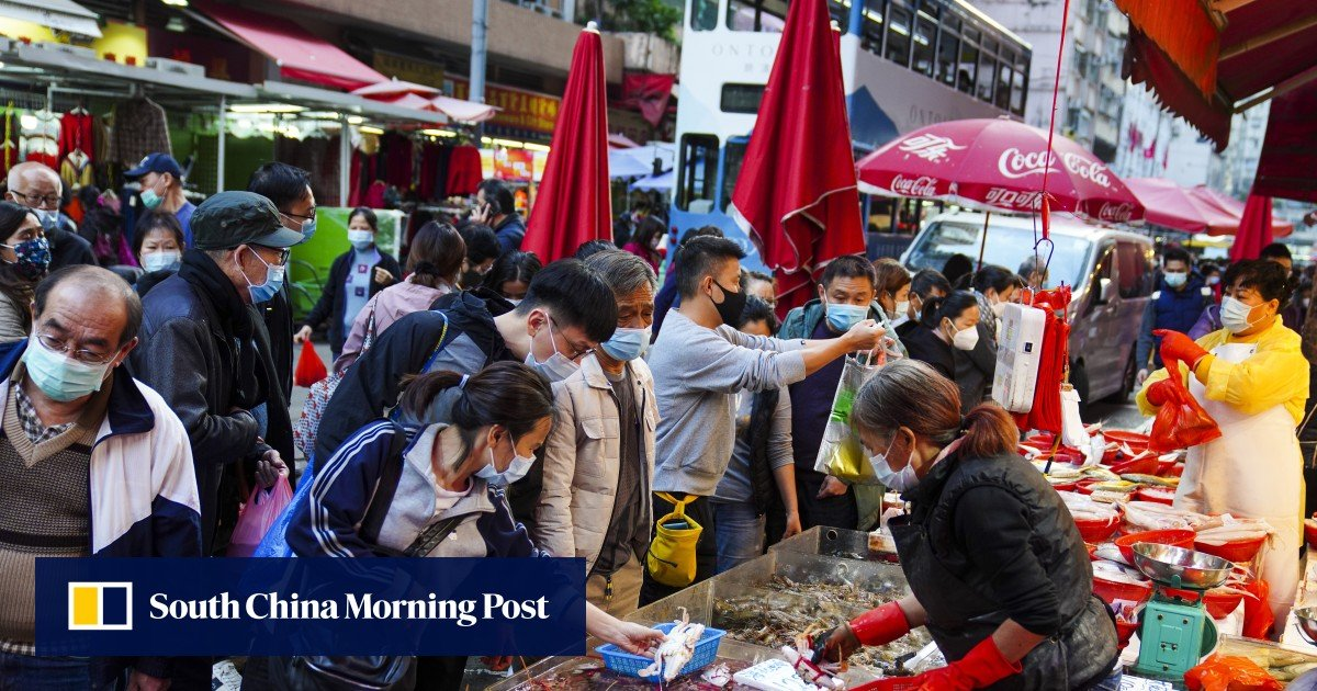 HK$5,000 vouchers can be used at wet markets: Hong Kong finance chief