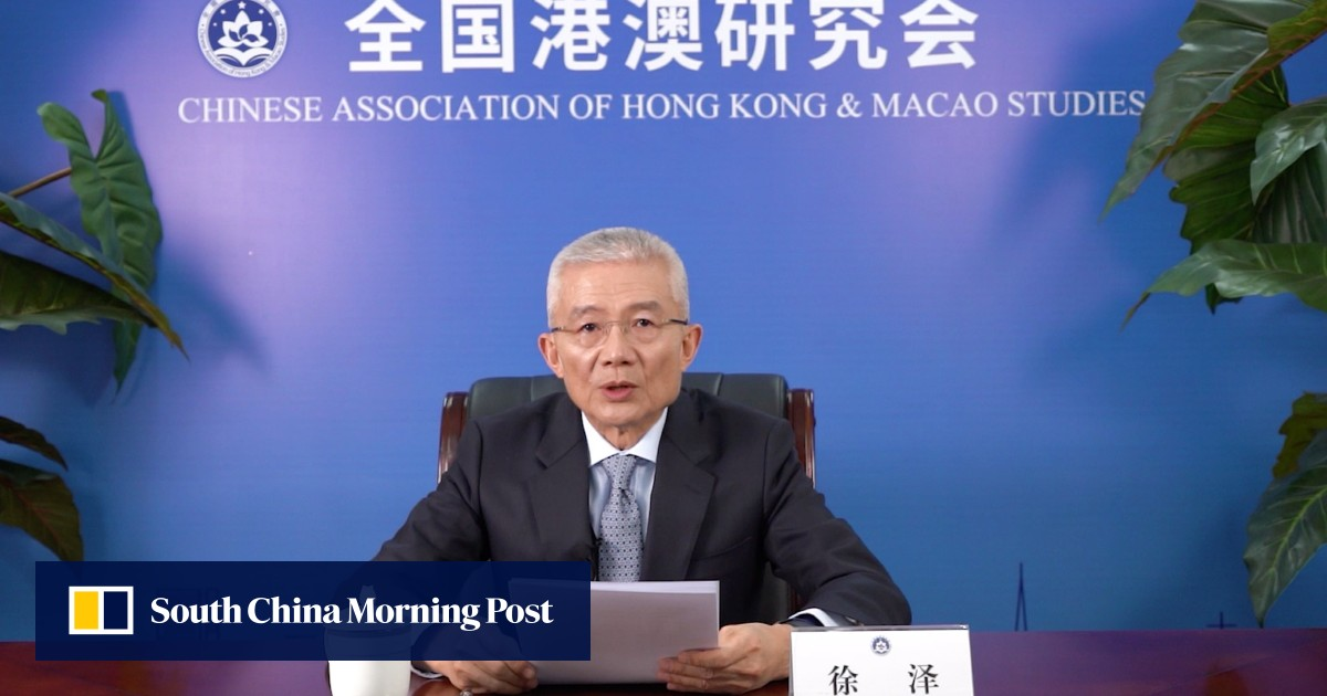 Beijing think tank chief pitches Asean countries on Greater Bay Area, Hong Kong