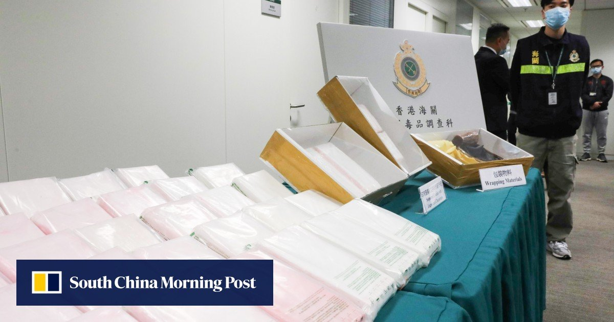 Hong Kong customs finds HK$126 million of cocaine in grape shipment
