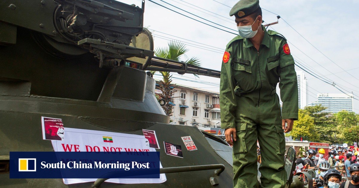 Military men helped Indonesia's democracy. Why not in Myanmar?
