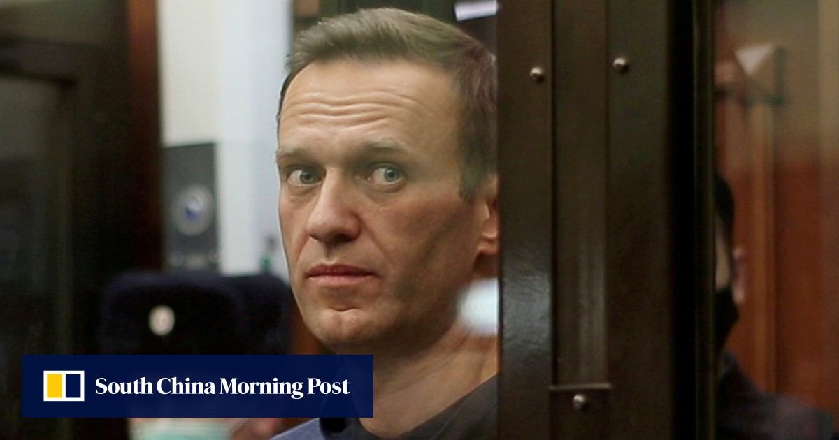 Russian opposition leader Navalny sent to prison outside Moscow